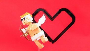 Lego cupid minifig