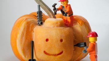 Pumpkin lego