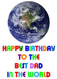 Best day inthe world birthday card
