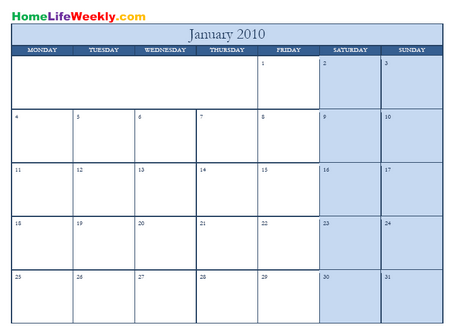 2011 Calendar Printable Pdf. This month by month calendar