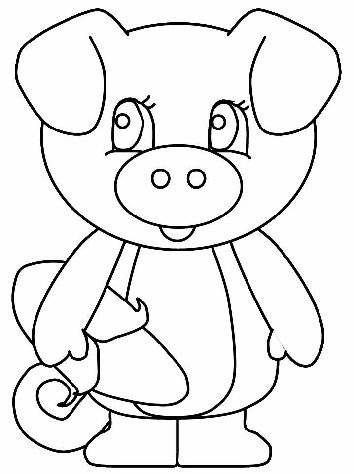 Flying Pig Coloring Pages Cute Pig Coloring Pages
