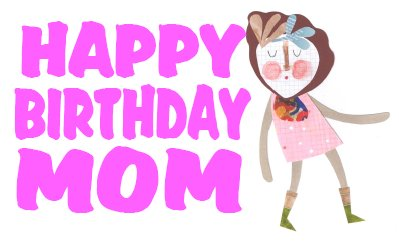 Funky Mom Birthday Card