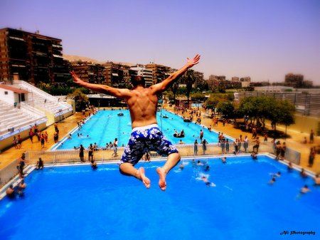 jumping-into-swimming-pool