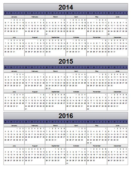 Top Result 60 Awesome Multi Month Calendar Template Image 2017 Kae2