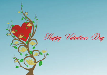 Printalbe Valentines Card Tree of Love